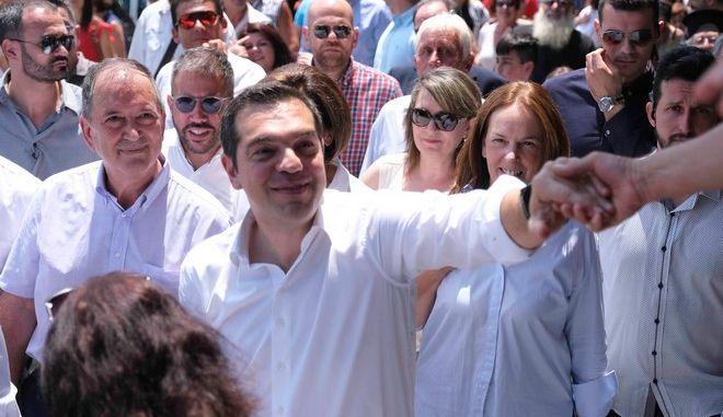 Επίσκεψη του Αλέξη Τσίπρα στη Ζαγορά Πηλίου