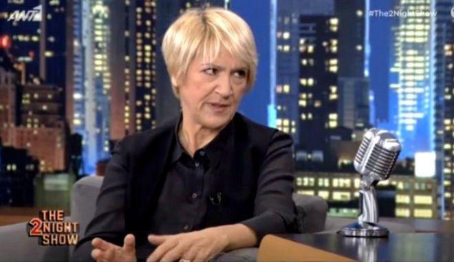 """Καίτη Κωνσταντίνου: """"Είδαν αφίσα του Οικονομόπουλου και νόμιζαν ότι είμαι εγώ"""""""
