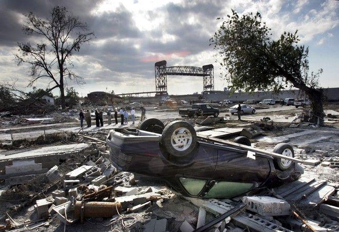 Η Νέα Ορλεάνη τον Οκτώβριο του 2005 μετά το πέρασμα του τυφώνα Κατρίνα