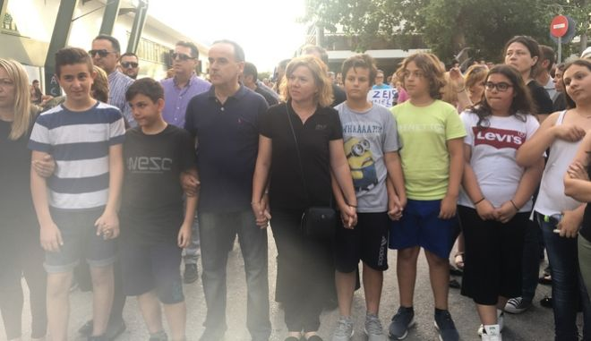 Μενίδι: Πορεία κατοίκων στη μνήμη του 11χρονου Μάριου