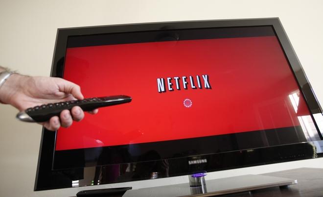 Το λογότυπο του Netflix στη μικρή οθόνη