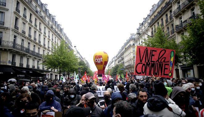 Παρίσι, Πρωτομαγιά 2021