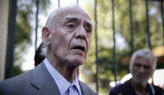 Ο πρώην υπουργός Ακης Τσοχατζόπουλος στα δικαστήρια της οδού Ευελπίδων