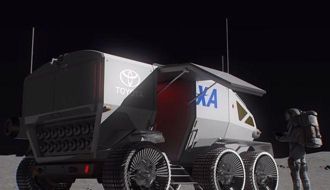 Ιαπωνία: JAXA και Toyota σχεδιάζουν να στείλουν στη Σελήνη ρόβερ με αστροναύτες
