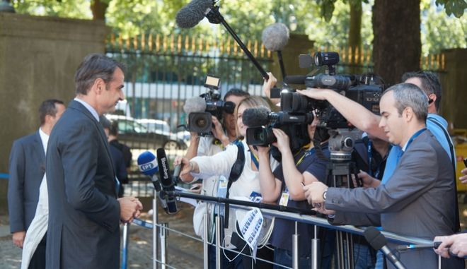 Ο Τσίπρας δεν είναι αξιόπιστος συνομιλητής των Ευρωπαίων για το προσφυγικό λέει ο Μητσοτάκης