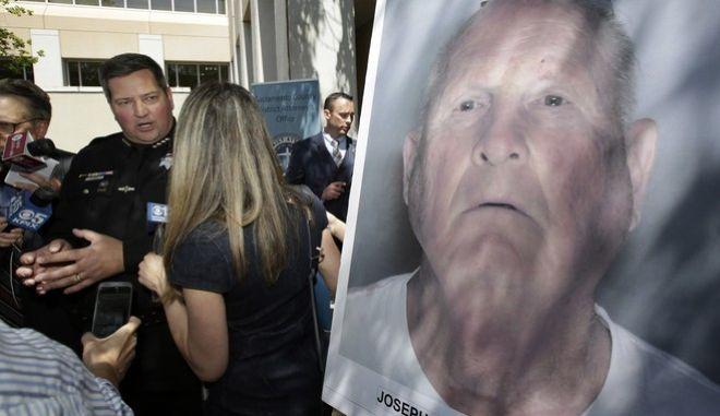 """Ο  κατά συρροή βιαστής και """"δολοφόνος του Γκόλντεν Στέιτ"""" ήταν τελικά ένας πρώην αστυνομικός"""