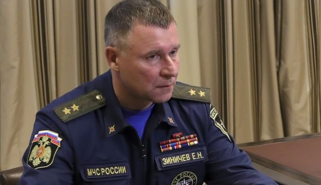 Ρωσία: Ο υπουργός Εκτάκτων Καταστάσεων σκοτώθηκε κατά τη διάρκεια άσκησης