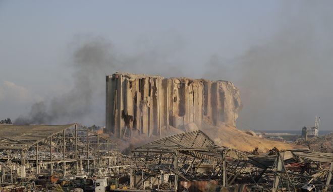 Το λιμάνι της Βηρυτού μετά την έκρηξη