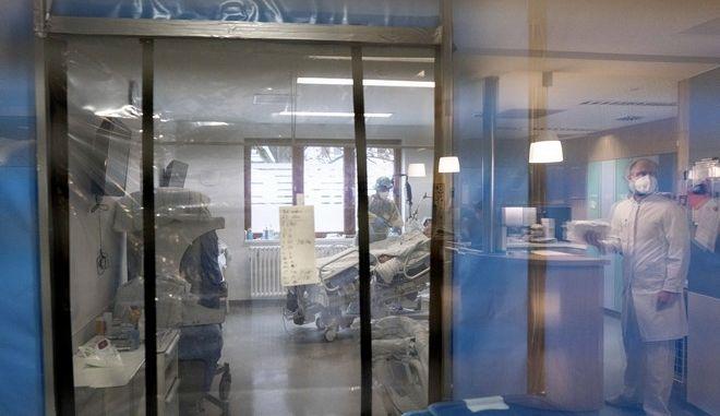 Εικόνα από ΜΕΘ κορονοϊού σε νοσοκομείο στο Βερολίνο