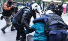 Επεισόδια και συλλήψεις κατά τη διάρκεια της συγκέντρωσης για το Δημήτρη Κουφοντίνα στα Προπύλαια, την Παρασκευή 29 Ιανουαρίου 2021.