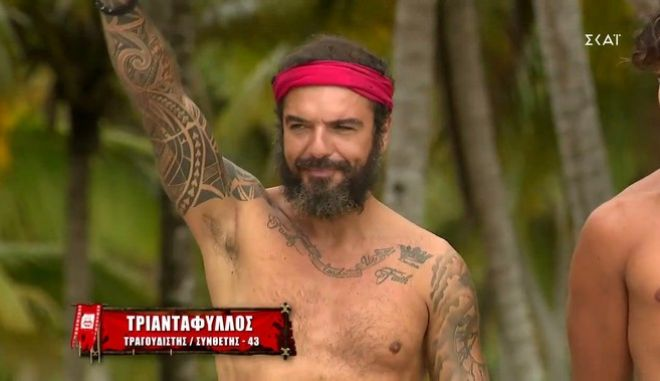 Ο Τριαντάφυλλος στο Survivor 4