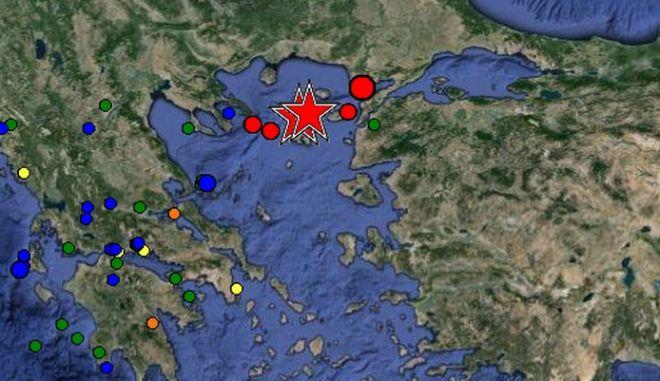 Μεγάλος σεισμός 6,3 ρίχτερ κοντά στη Λήμνο. Τρεις ελαφρά τραυματίες