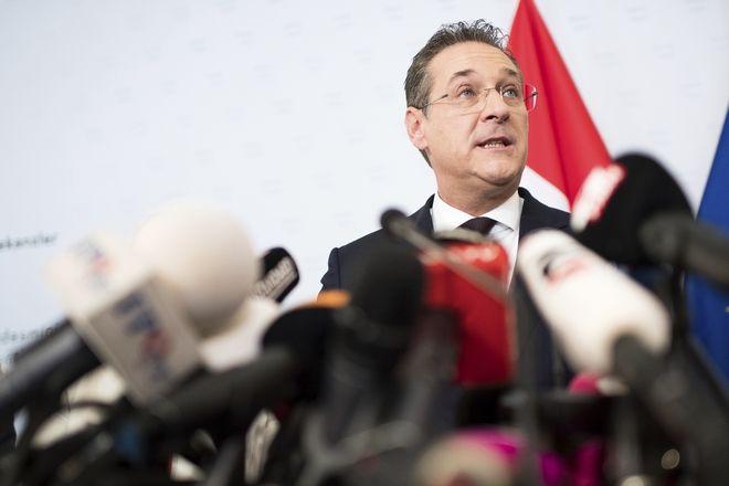 Παραιτήθηκε ο αντικαγκελάριος της Αυστρίας, Χάιντς-Κρίστιαν Στράχε