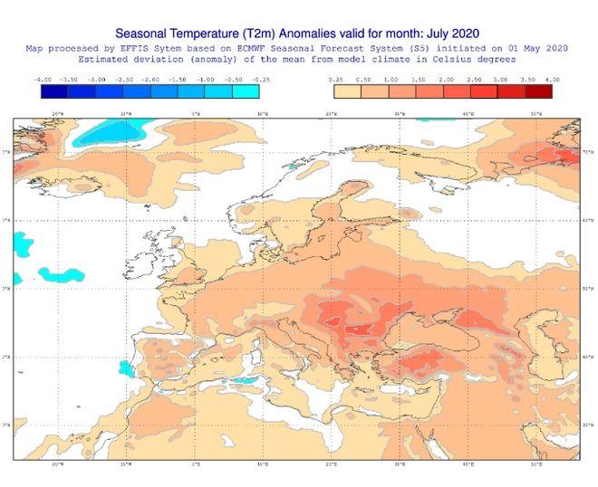 Καιρός: Οι μακροπρόθεσμες προγνώσεις για το φετινό καλοκαίρι
