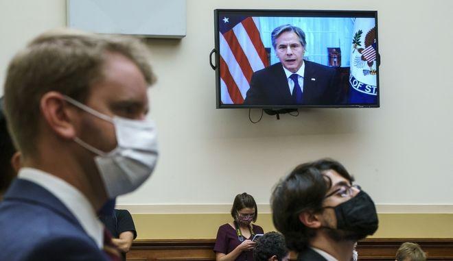 Ακροαματική διαδικασία στο Κογκρέσο για την αποχώρηση από το Αφγανιστάν