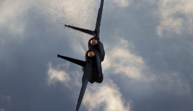 Ισραηλινό F-15 εν πτήση
