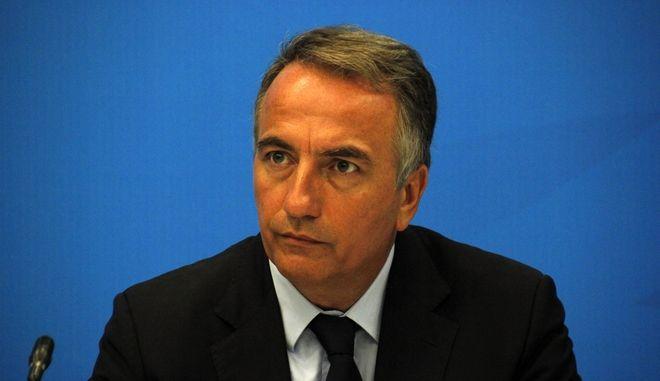 Ο βουλευτής A' Θεσσαλονίκης Σταύρος Καλαφάτης σε παλαιότερη συνέντευξη Τύπου