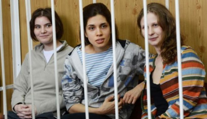 Δικαστήριο απαγόρευσε την πρόσβαση στα βίντεο των Pussy Riot στο Διαδίκτυο