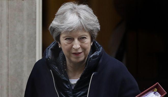 Η πρωθυπουργός της Βρετανίας, Τερέζα Μέι