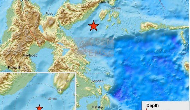 Ινδονησία: Σεισμός 6,8 Ρίχτερ - Προειδοποίηση για τσουνάμι