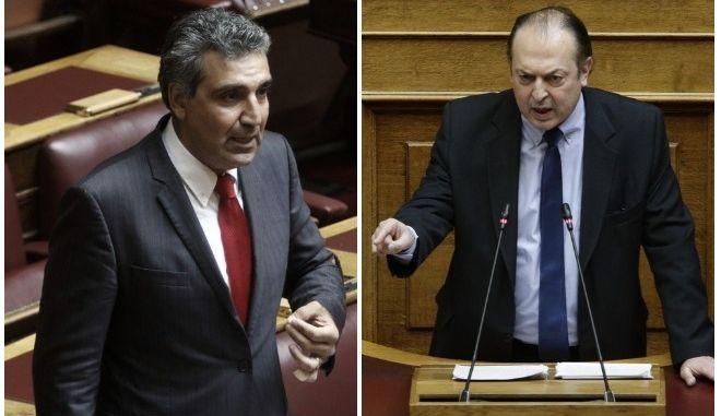 Λαζαρίδης-Φωκάς: Απόντες κοινοβουλευτικά, ενεργοί οπαδικά