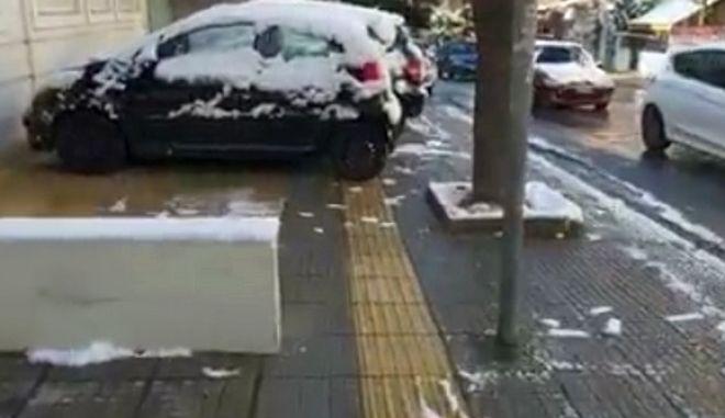 Το να παρκάρεις πάνω σε διαγράμμιση για ΑμεΑ είναι αυτοταπείνωση