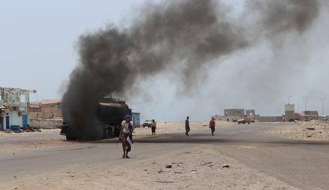 Έκρηξη στην Υεμένη (φωτογραφία αρχείου)