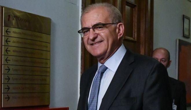 Ο υφυπουργός Εξωτερικών Αντώνης Διαματάρης