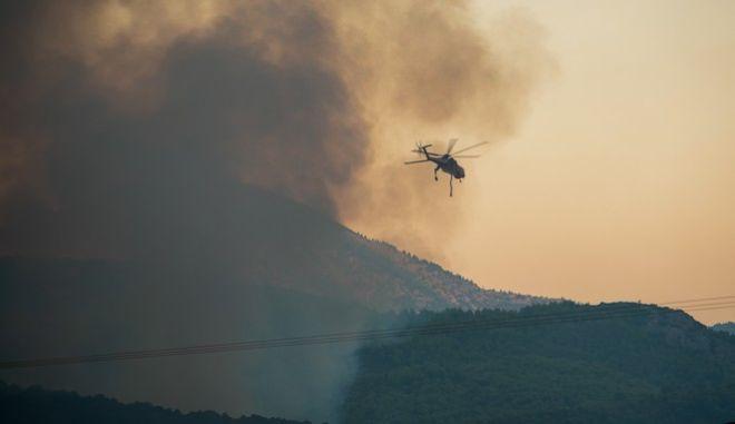 Φωτό αρχείου: Κατάσβεση δασικής πυρκαγιάς
