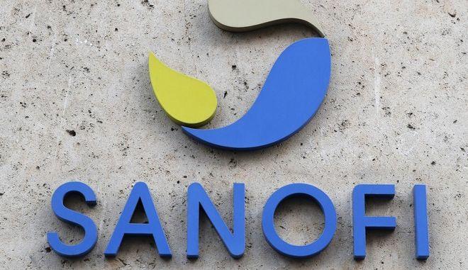 Το λογότυπο της γαλλικής εταιρείας Sanofi
