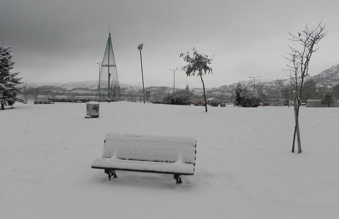 ΚΑΣΤΟΡΙΑ-Ισχυρή χιονόπτωση στην Καστοριά.(EUROKINISSI)