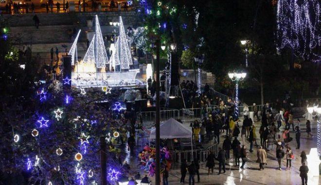 Όλο το εορταστικό πρόγραμμα του δήμου Αθηναίων