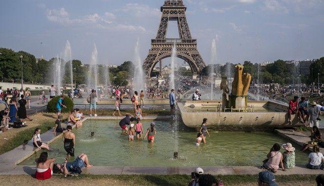 Καύσωνας στο Παρίσι