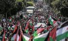 Παλαιστίνη: Διαδηλώσεις στη Γάζα κατά του αμερικανικού σχεδίου