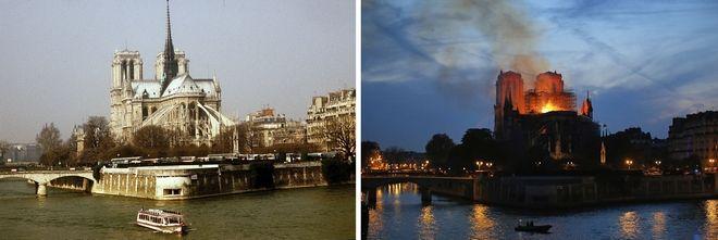 Πριν και μετά την καταστροφή