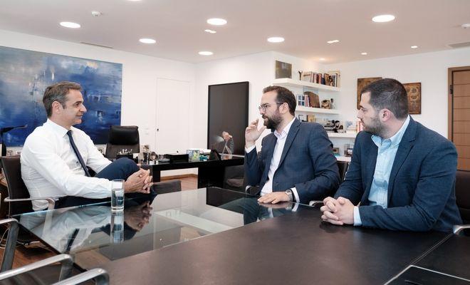 Συνάντηση του Προέδρου της Ν.Δ. κ. Κ. Μητσοτάκη με υποψήφιους Περιφερειάρχες.