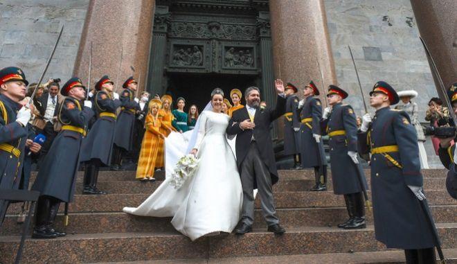 Ο πρώτος βασιλικός γάμος μετά από έναν και πλέον αιώνα στη Ρωσία είναι γεγονός