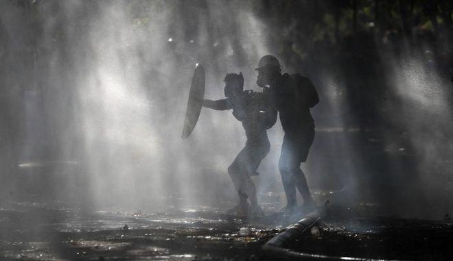 Αντικυβερνητική διαδήλωση στη Χιλή