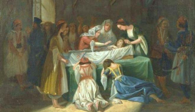 """Μηχανή του Χρόνου: Δούκισσα της Πλακεντίας. Η τραγική μάνα που ταρίχευσε την νεκρή κόρη της και """"ζούσαν"""" μαζί, στην πλατεία Ομονοίας"""