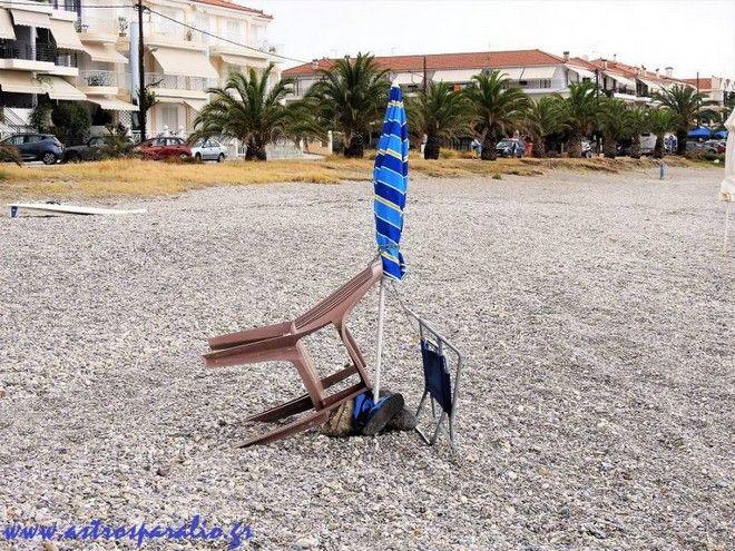 Απίστευτο και όμως ελληνικό: Βάζουν λουκέτα στις ξαπλώστρες