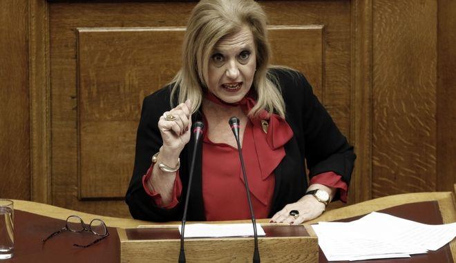 Η βουλευτής Θ.Μεγαλοοικονόμου