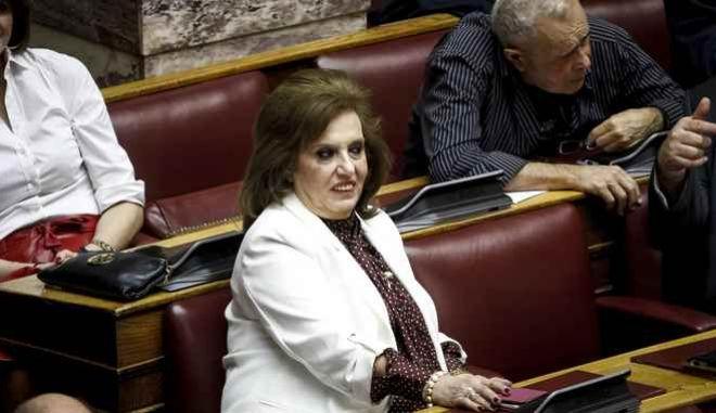 Η βουλευτής Θεοδώρα Μεγαλοοικονόμου