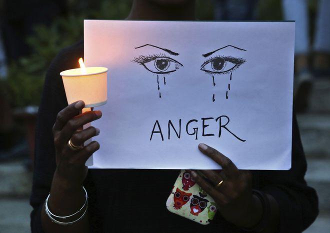 Διαμαρτυρία κατά της σεξουαλικής βίας εναντίον γυναικών στην Ινδία
