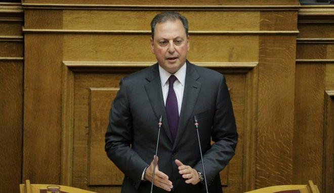 O κοινοβουλευτικός εκπρόσωπος της ΝΔ, Σπήλιος Λιβανός