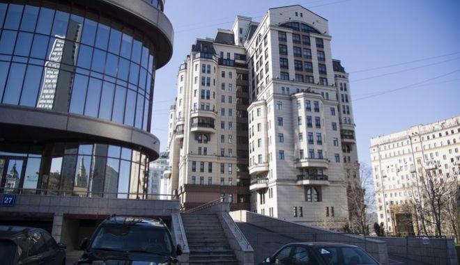 Τα κεντρικά γραφεία της Evrofinance Mosnarbank στην Μόσχα