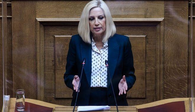 Η Φώφη Γεννηματά στην συζήτηση στη Βουλή για την κύρωση της Συμφωνίας με τη Γαλλία