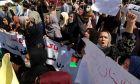 Διαδήλωση γυναικών στο Αφγανιστάν