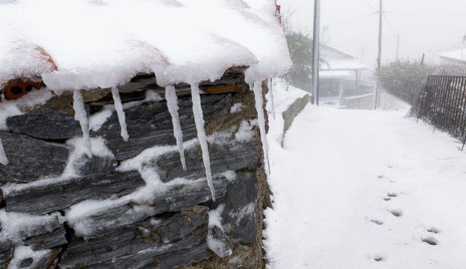Χιόνια στη Θεσσαλία