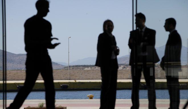 ΠΕΙΡΑΙΑΣ-Εγκαίνια νέου σταθμού για την εξυπηρέτηση των επιβατών της νέας γενιάς κρουαζιερόπλοιων, παρουσία του υπουργού Ναυτιλίας Κ. Μουσουρούλη. (EUROKINISSI-ΓΕΩΡΓΙΑ ΠΑΝΑΓΟΠΟΥΛΟΥ)