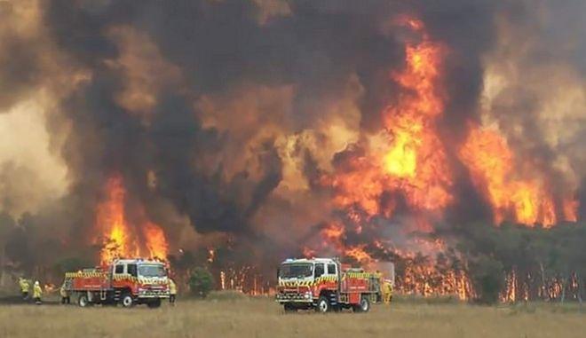 Φωτιές στη Νέα Ουαλία της Αυστραλίας